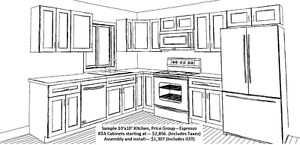 Kitchen & Bath Cabinets in Prince George