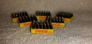 1/24 DIECAST DANBURY MINT COCA COLA BOTTLES/CASES NEW