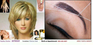 $5Eyebrows threading,Tinting,Waxing,Facial,ClaytonPark Halifax