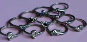 Ladies Beautiful Stainless Steel Rings