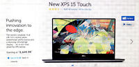 Dell XPS 15 touch screen laptop - MINT CONDITION!!!