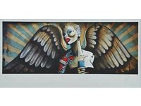 Terry Bradley Absolut Angel Print