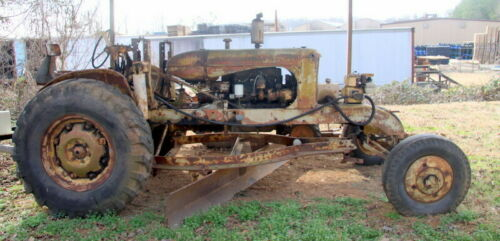 1939 ALLIS CHALMERS W SPEED PATROL GRADER NOW IN RUNNING CONDITION!!!