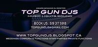Top Gun Djs: Holiday Staff Parties/Weddings/any size budget
