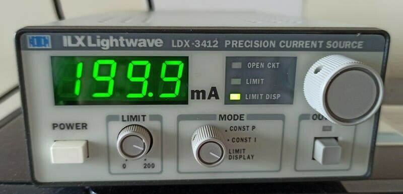 ILX Lightwave LDX-3412 200mA Precision Current Control
