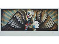 Terry Bradley Absolut Angel Print