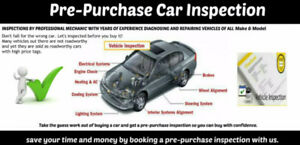 Pre-Purchase Vehicle Inspection Services Halifax