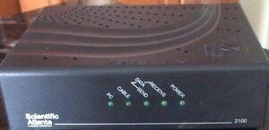 Cable internet broadband modem scientific atlantic DPC2100R2