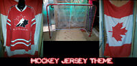 Casting for Hockey Jersey Shoot