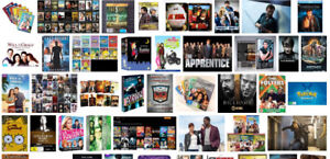 TV shows or movies series/seasons DVD sets