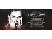 TAYLOR SWIFT, Reputation Tour, Etihad Stadium, 9th June 2018, Sold-out Platinum Seat