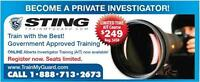 ***Become a Licensed Private Investigator Today***