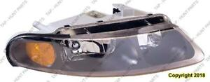 Head Lamp Driver Side Coupe High Quality Dodge Avanger 1997-2000