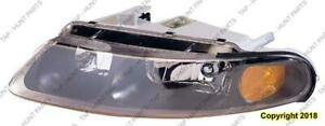 Head Light Passenger Side Coupe High Quality Dodge Avanger 1997-2000