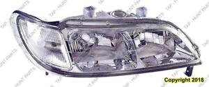 Head Lamp Passenger Side High Quality Acura CL 1997-1999