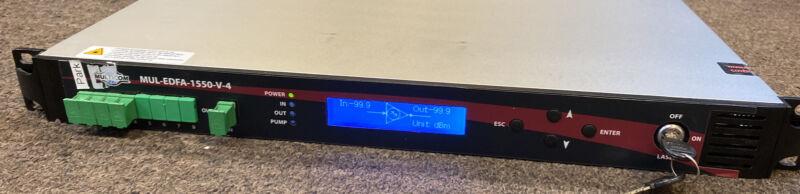MULTICOM Erbium Doped Fiber Amplifier MUL-EDFA-1550-V-4_USED