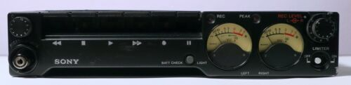 VINTAGE 1980 Sony TC-D5M Portable Stereo Cassette Recorder Near MINT