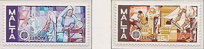 Europa CEPT 1976 Ambachten Malta 532-533 - Postfris  MNH