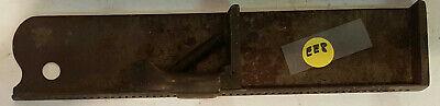 Vintage Printing Composing Stick - 10 Metal