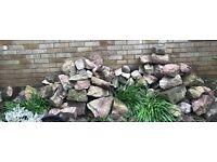 Rockery alpine ornamental stones rocks boulders