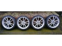 "19"" Pretoria Style Wheels & Tyres VW Golf R Seat Leon Caddy etc."