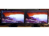 Single dual or triple monitor setup V223HQBOb 21.5 in Widescreen Full 1080p HD Monitors (Bath Ba2)