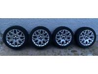 Used 17' Genuine Ford Focus Alloys with Tyres