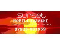 Sunset Mobile Karaoke - The One Man Show
