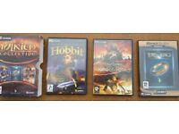 TOLKIEN COLLECTION 3 Series Box Set PC Games (Never been used)