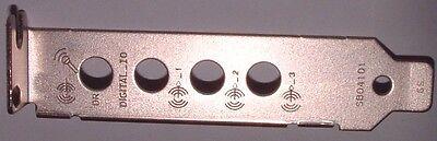 Creative Sound Blaster low profile Bracket for Xtreme X-Fi Audio pci™   new!!!