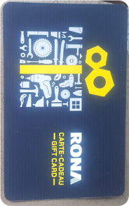RONA GIFT CARD !! $185 for $165 !!