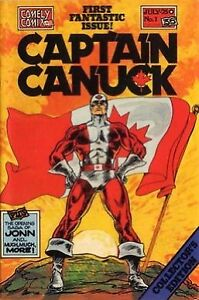Captain Canuck Comics Issues #1 and #2 Special Collector's Pack