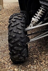 4 Maxxis Bighorn tires