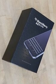 Blackberry KEYone - brand new, boxed with Carphone Warehouse receipt
