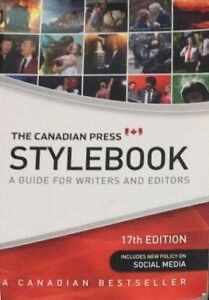 Canadian Press Stylebook 17th edition