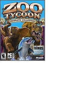 Zoo tycoon the PC game