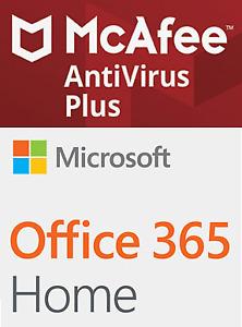 Ms Office 365   McAfee Antivirus Plus 2019