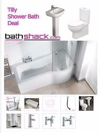 complete shower bath suite from as low as £649