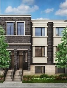 Modern townhouse for rental in Richmond Hill
