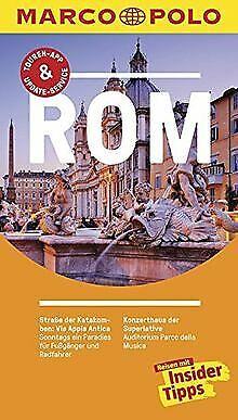 MARCO POLO Reiseführer Rom: Reisen mit Insider-Tipps. Mi...   Buch   Zustand gut