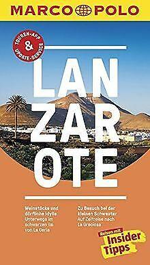 MARCO POLO Reiseführer Lanzarote: Reisen mit Inside...   Buch   Zustand sehr gut
