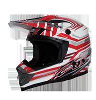 Zox Tiaga Red  JR Kids MX Helmet