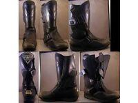 WANTED - Frank Thomas motorcycle boots