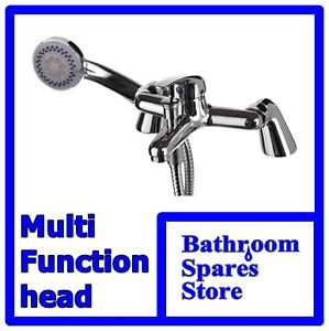 SINGLE LEVER BATH SHOWER MIXER FOR BATHROOM WITH SHOWER HOSE AND HANDSET (RIO)