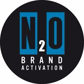 Looking for flexible, part-time work? Become an N2O Brand Ambassador - £9-10 per hour