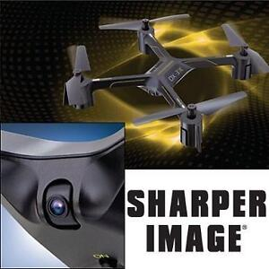 NEW OB SHARPER IMAGE RC VIDEO DRONE QUADCOPTER - RADIO CONTROL VEHICLES - TOYS - KIDS - RECHARGEABLE 2.4GHz 99694586