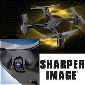USED SHARPER IMAGE RC VIDEO DRONE QUADCOPTER - RADIO CONTROL VEHICLES - TOYS - KIDS - RECHARGEABLE 2.4GHz 99694384