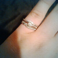 Engagement Ring and Wedding Ring combo
