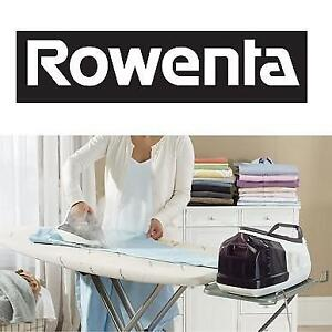 USED ROWENTA STEAM STATION 1800W DG8520 187448960 PURPLE PRO PERFECT CLOTHES CLOTHING LAUNDRY IRON