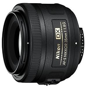 Objectif 35mm f:1.8 Nikon DX AF-S NIKKOR- Parfait état